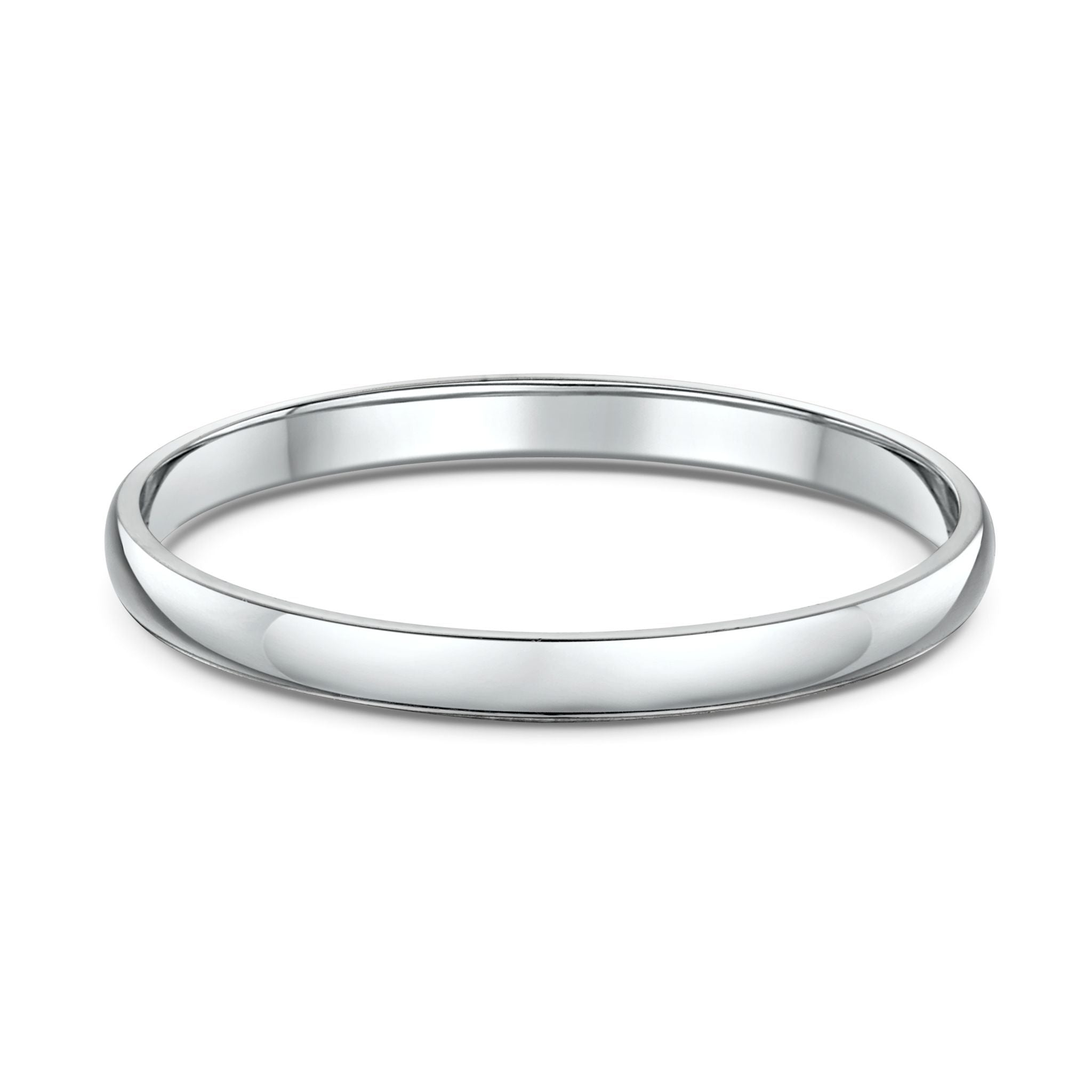 Low Half Round 2mm Wedding Band