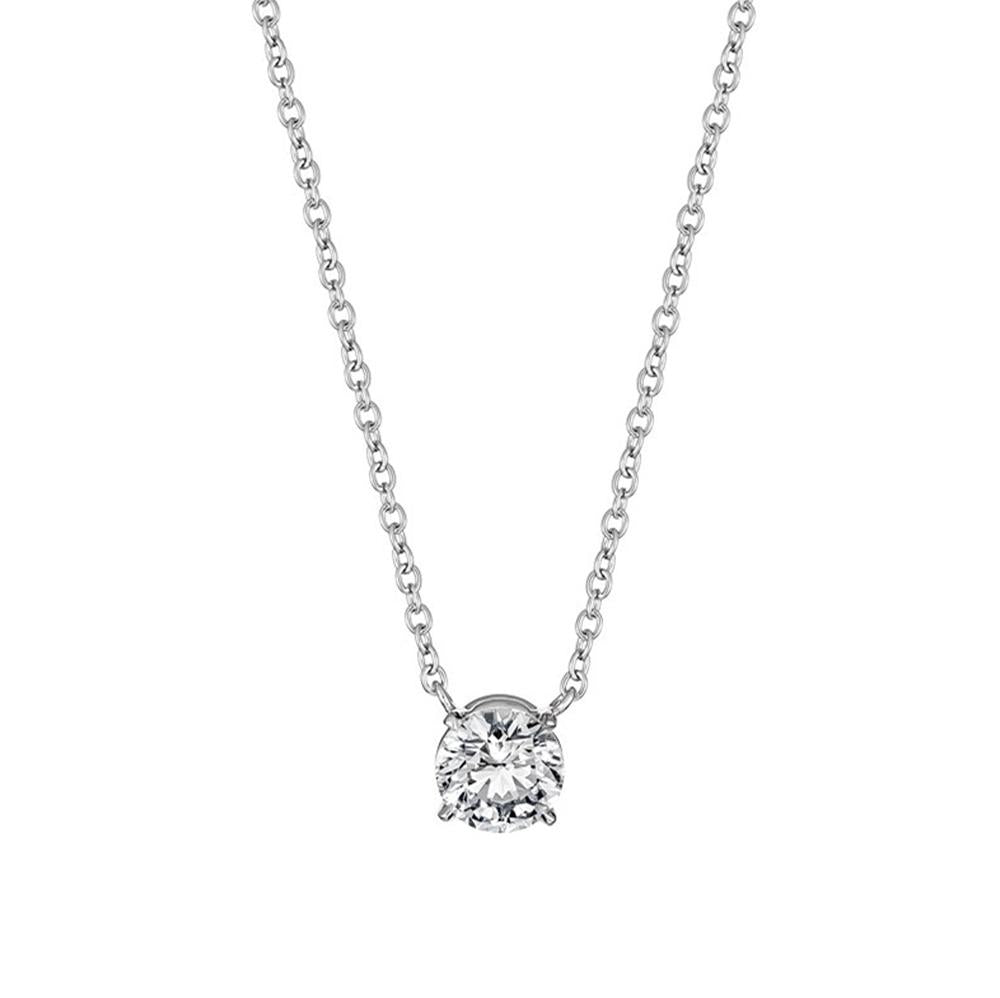 4-claw Solitaire Diamond Pendant