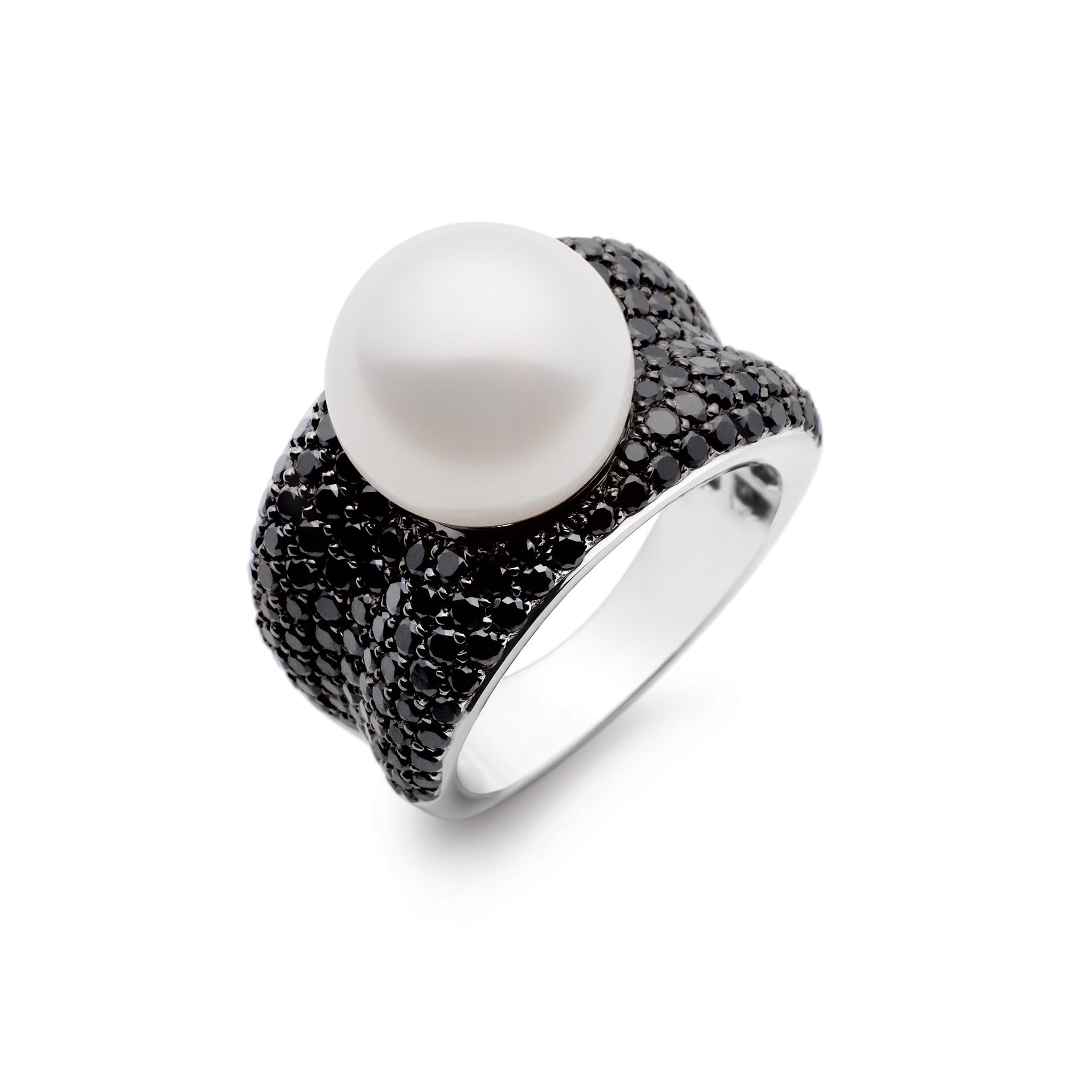 Kailis Jewellery - Adored Ring - Black Diamonds
