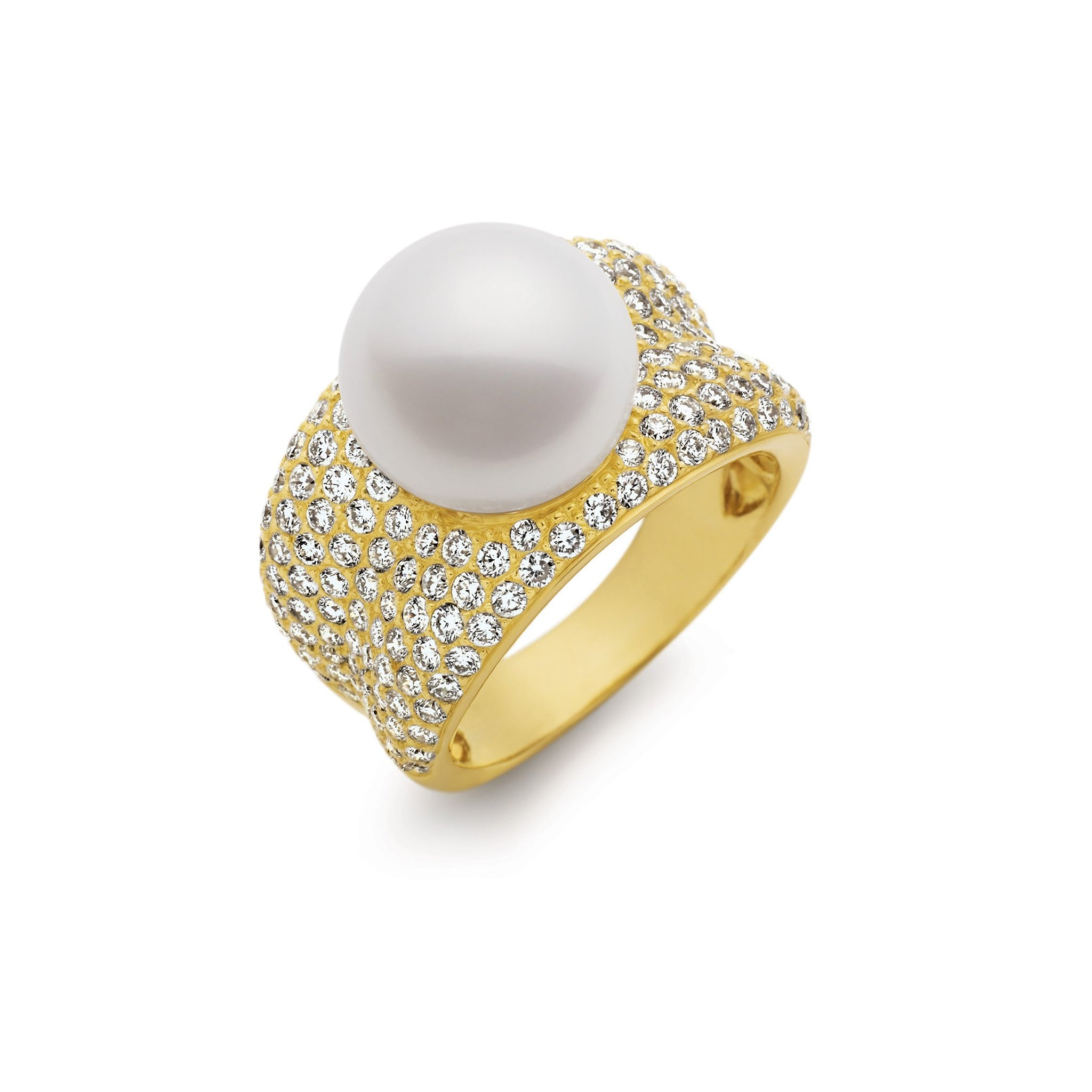 Kailis Jewellery - Adored Ring - Yellow Gold