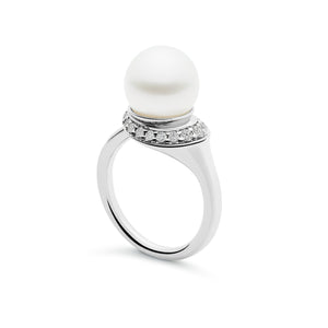 Kailis Jewellery - Classic Swan Ring - White Gold