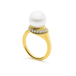 Kailis Jewellery - Classic Swan Ring - Yellow Gold