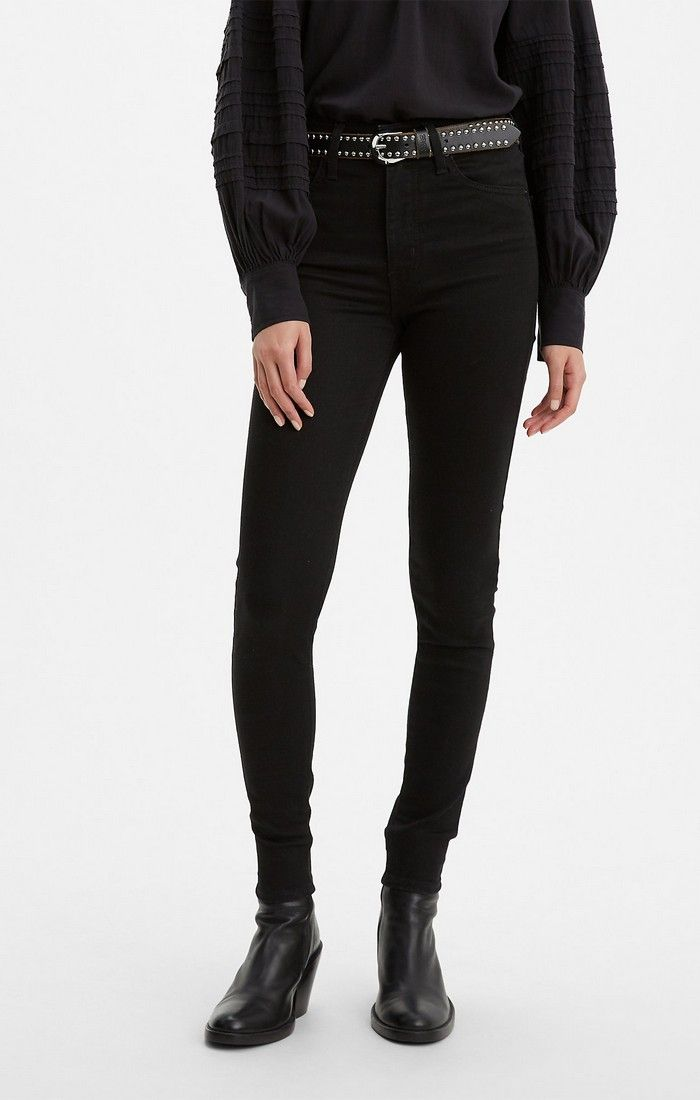 Levi's Mile High Super Skinny in Black Celestial