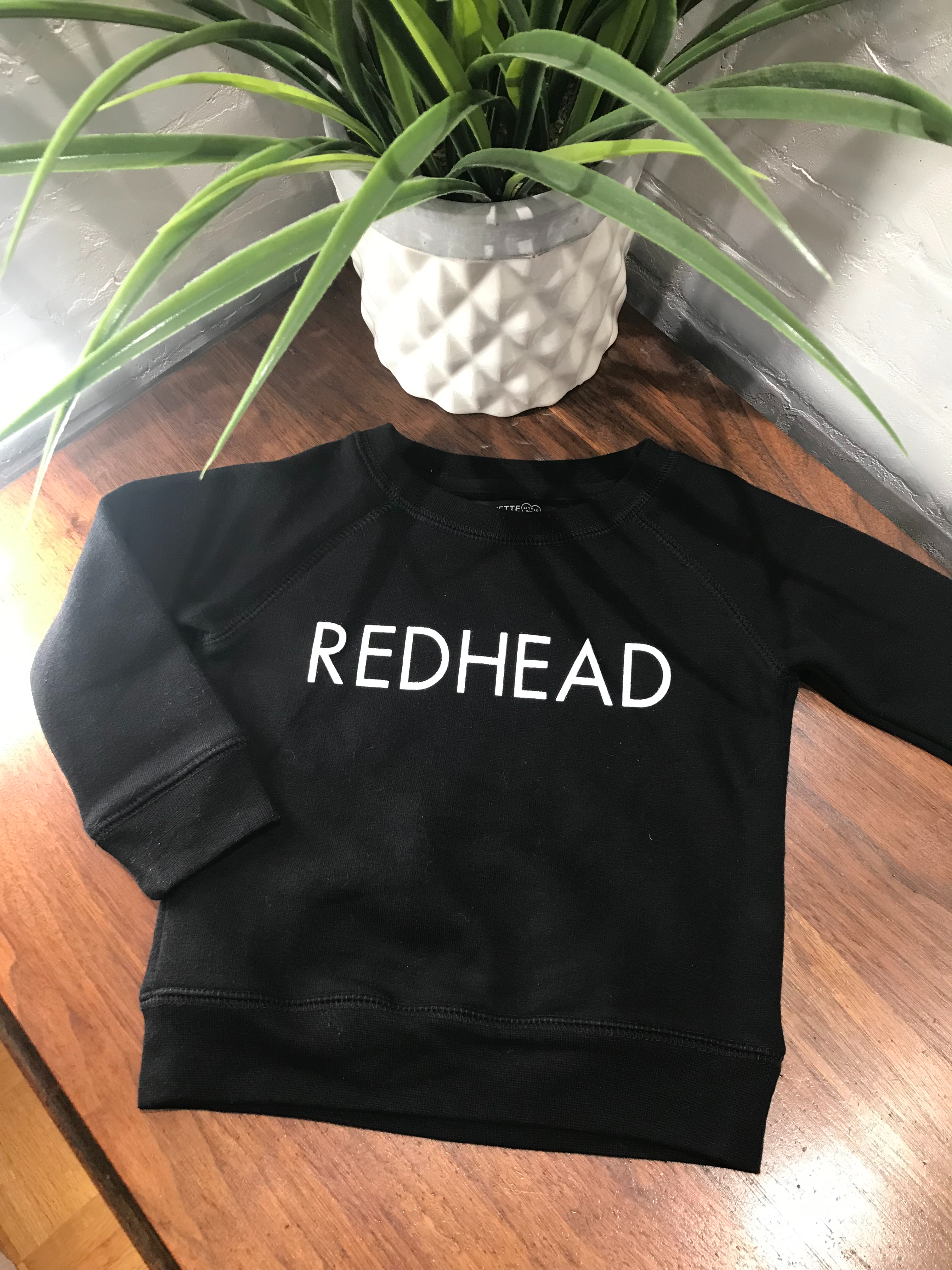 Little babes REDHEAD Classic Crew