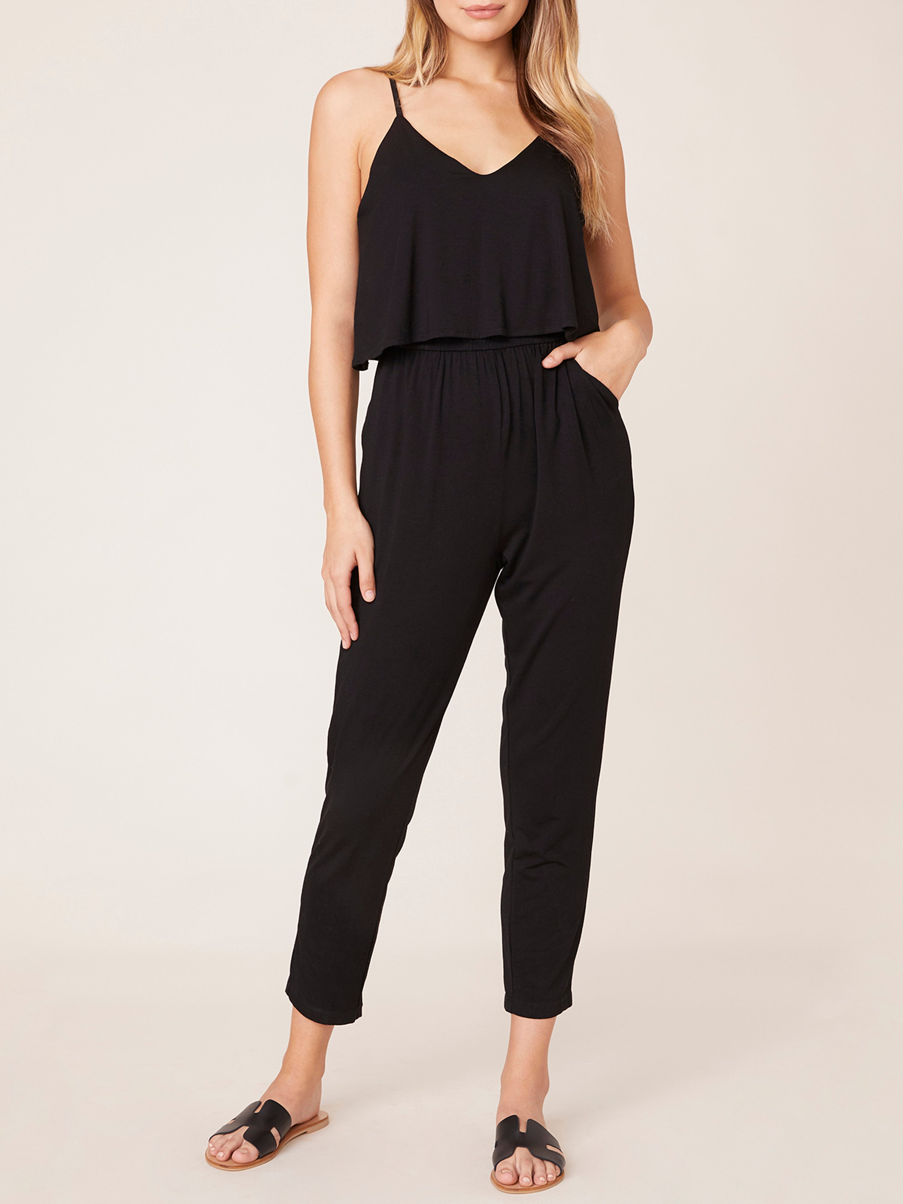 BB Dakota Black Romper