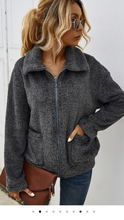 Load image into Gallery viewer, Plush Sherpa Coat