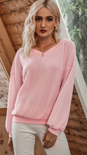 Load image into Gallery viewer, Comfy Waffle Knit Top
