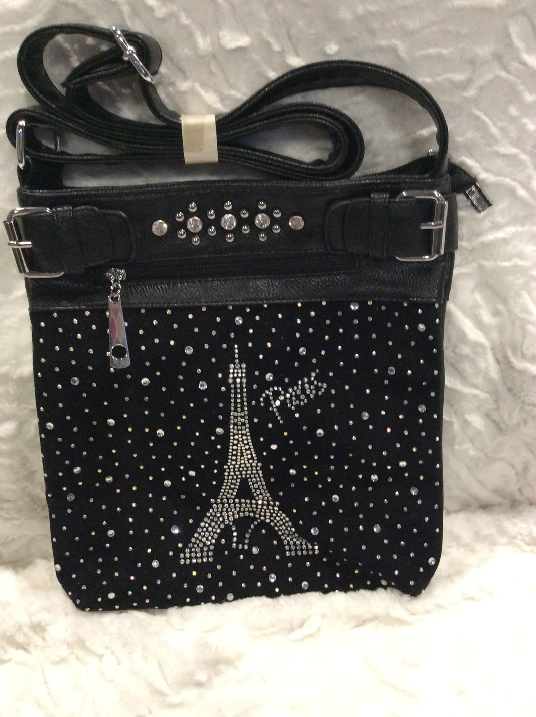 Paris Bling Crossbody Handbag
