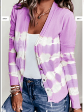 Load image into Gallery viewer, Tie Dye Cardigan