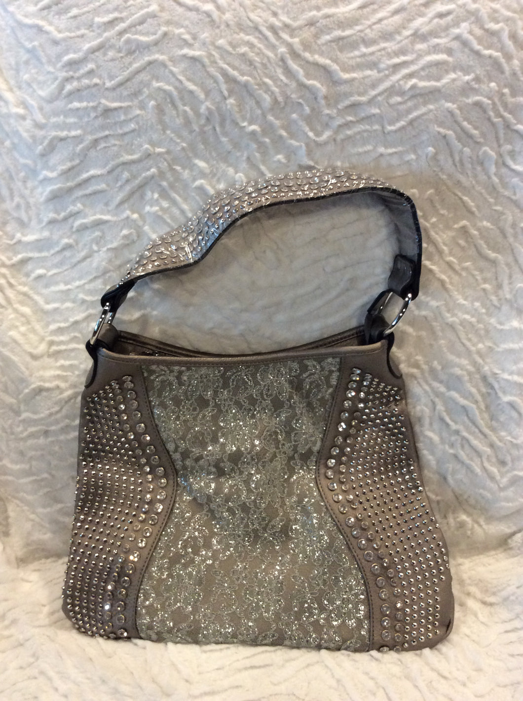 Lace Sparkle Handbag