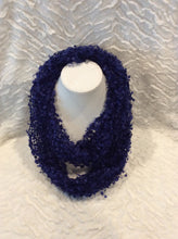 Load image into Gallery viewer, Blue Confetti Infinity Scarf