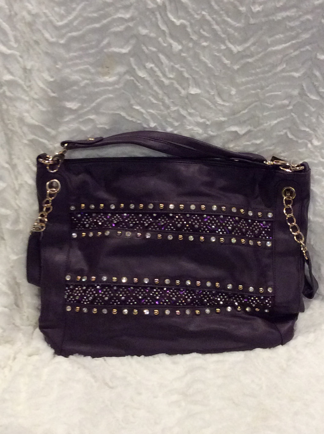 Plum Sparkle Handbag