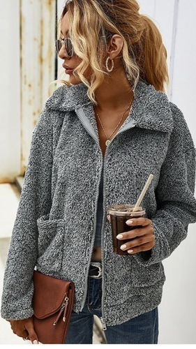 Plush Sherpa Coat