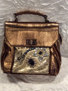 Bronze Nicole Lee Shooting Star Handbag