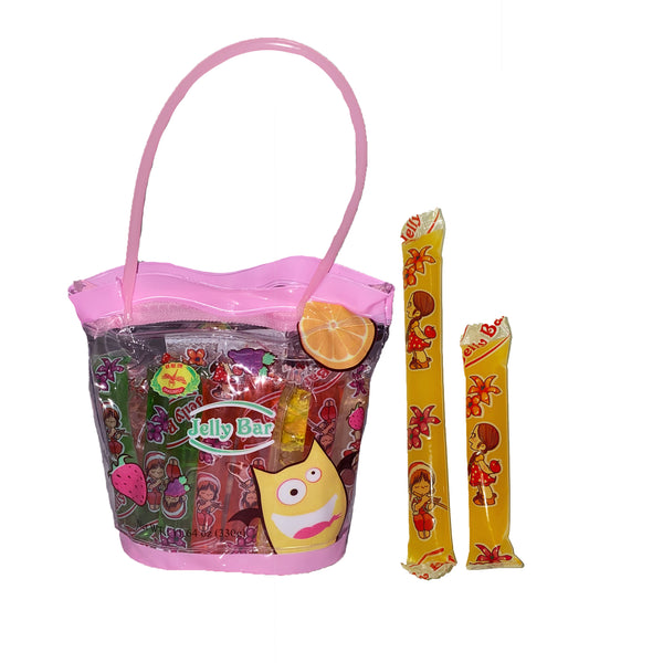 Mini Jelly Straw Purse