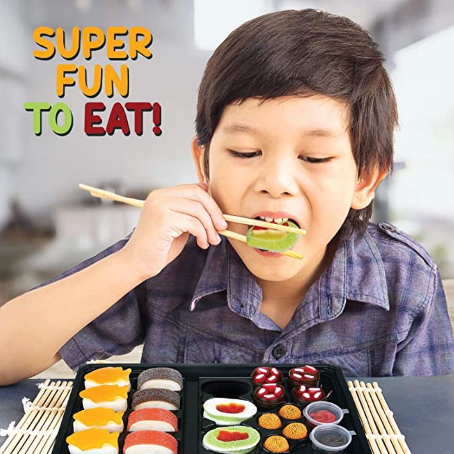 Gummy Candy Sushi Bento Box