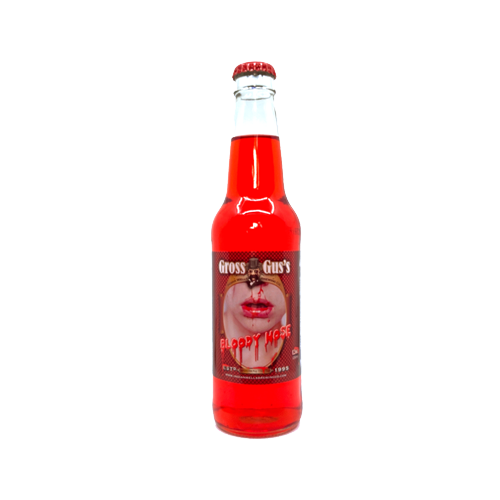 Bloody Nose Cherry Flavored Soda