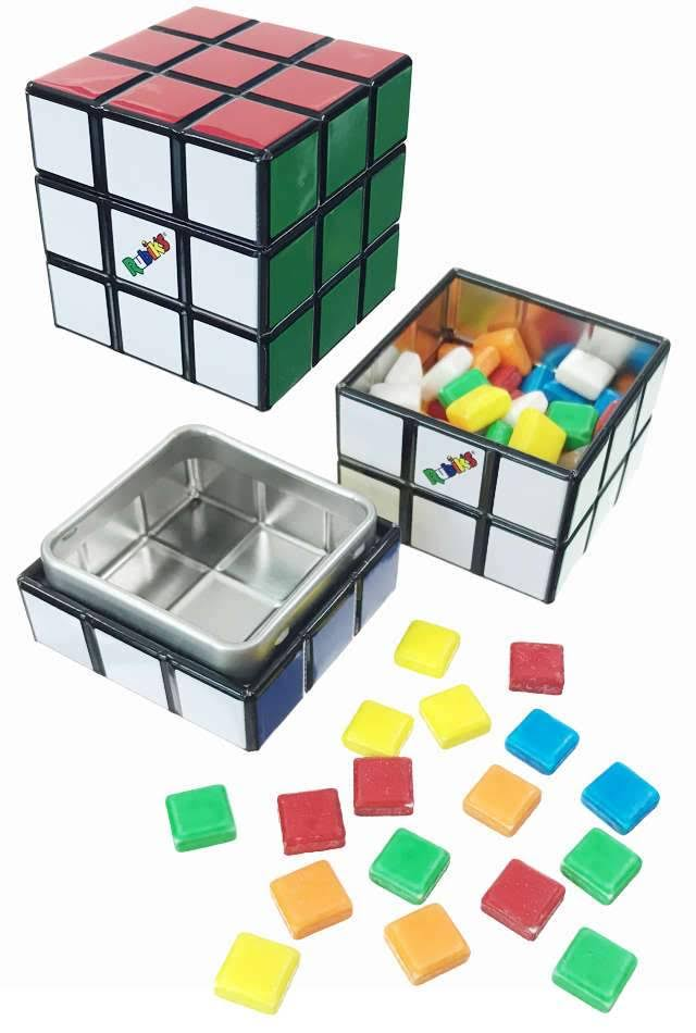 Rubik's Candy Cube Tin
