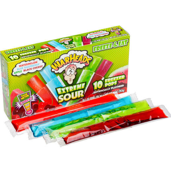 Warheads Popsicles!