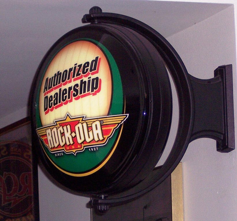 Rotating Pub Sign