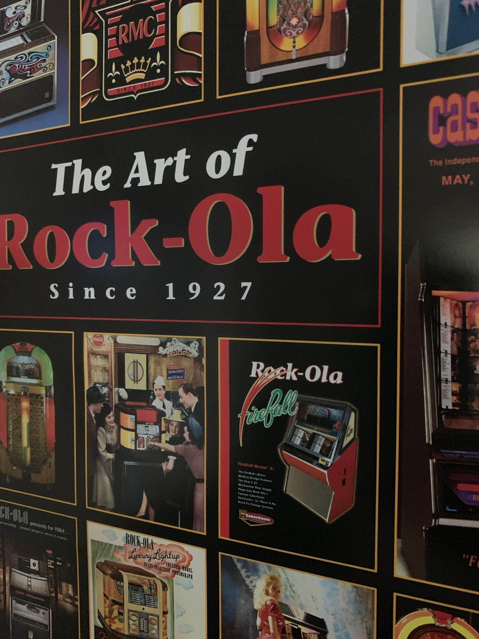Art of Rock-Ola Poster