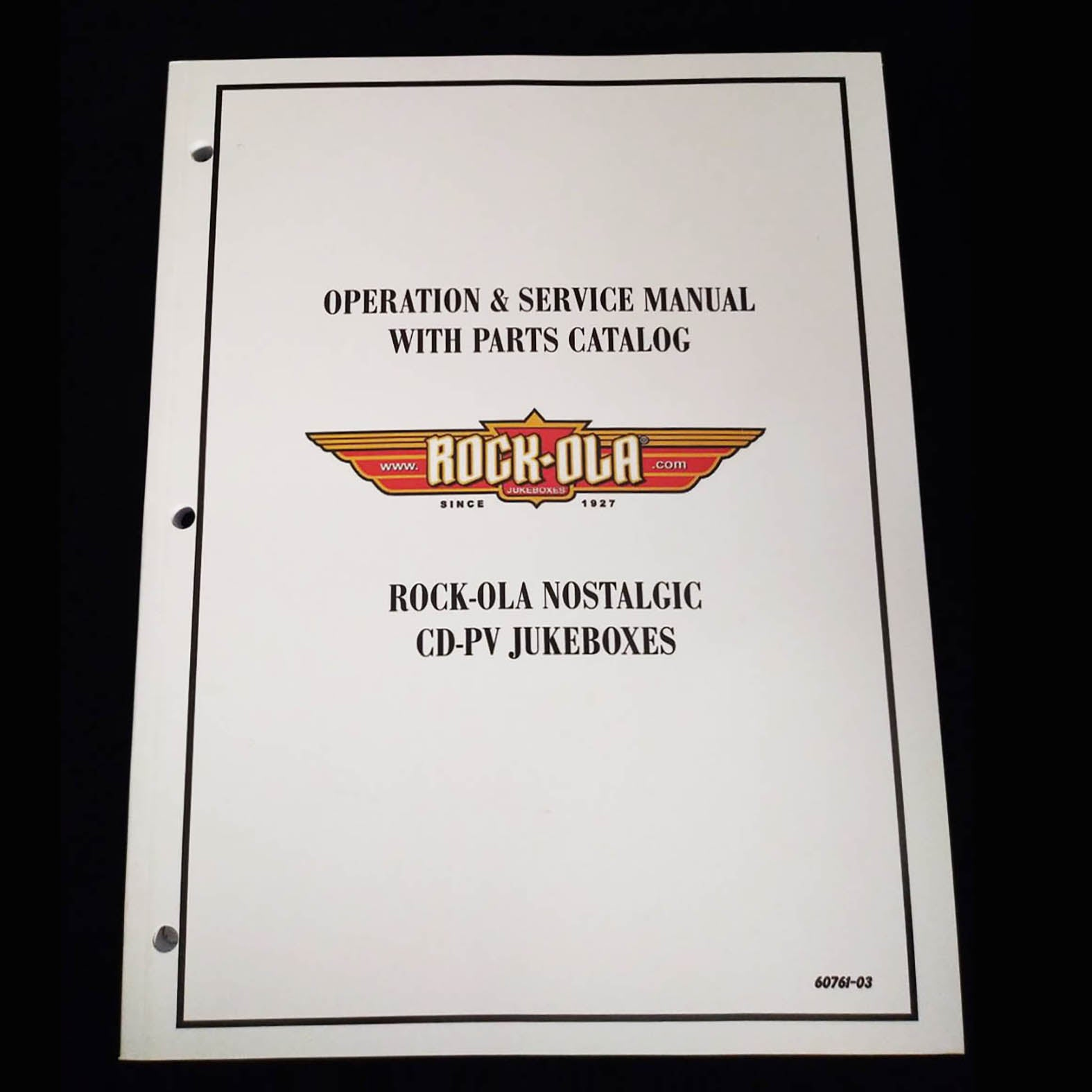 Rock-Ola Jukebox Operation & Service Manual