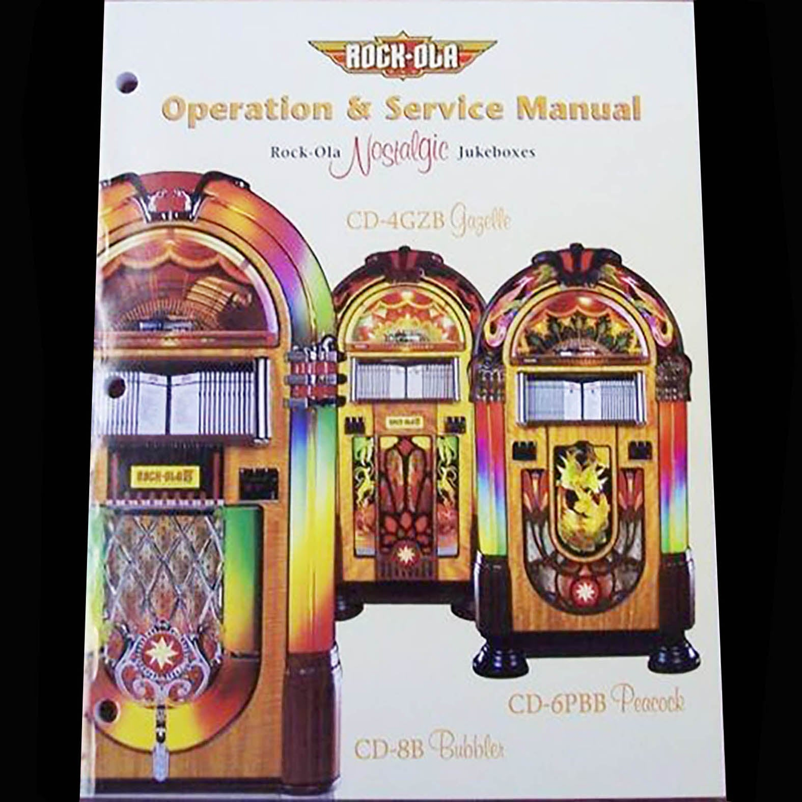 Rock-Ola Jukebox Operations Manual | Orange System