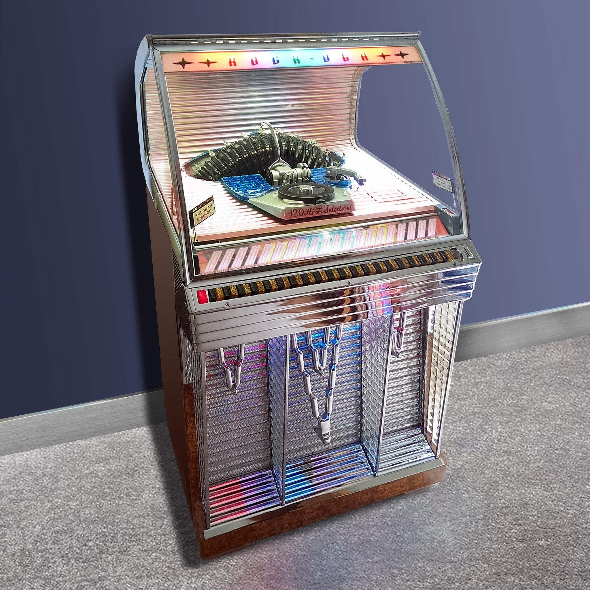 The 1955 Rock Ola 1448 120 selection Jukebox