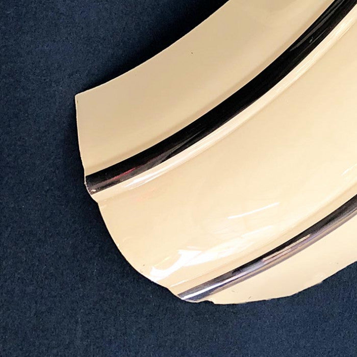 Upper Curved Cream Plastic Right Panel