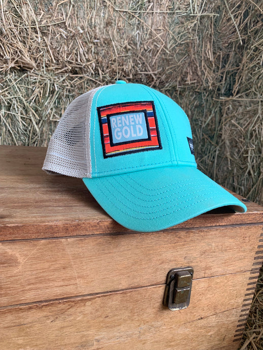 Mint Renew Gold Big Truck Brand Hat