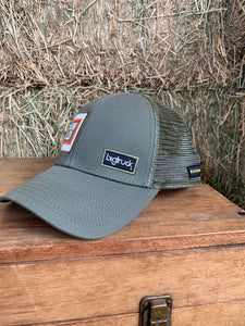 Olive Renew Gold Big Truck Brand Hat