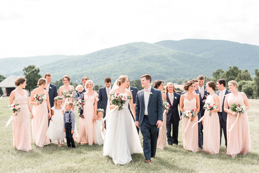 Rachael & Eric's Vineyard Wedding in Charlottesville