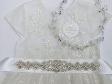 Load and play video in Gallery viewer, Video Rhinestone applique style 006 with sequin dress