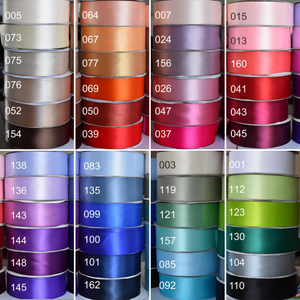 Color chart satin sash ribbons 5 cm Ana Balahan