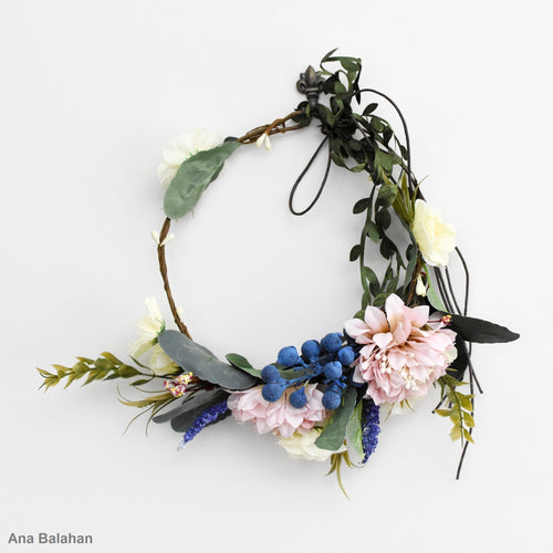 Floral wreath for flower girl dresses Australia