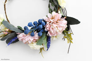 Flower crown for junior bridesmaid dresses