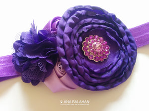 Purple Fantasy headband