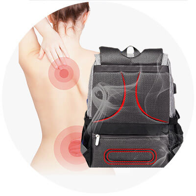Sturdy & Breathable Design Prevents Back Pain