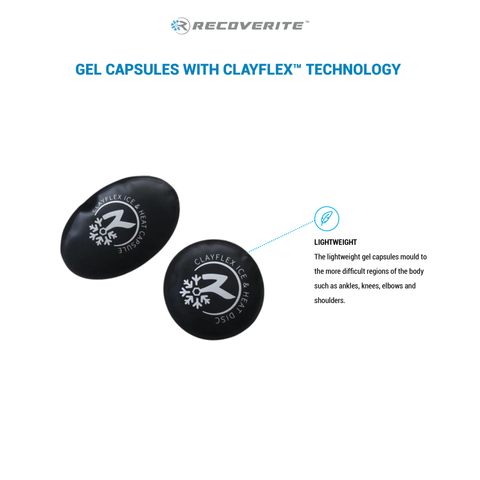 Recoverite ClayFlex™ Ice/Heat Capsules x10