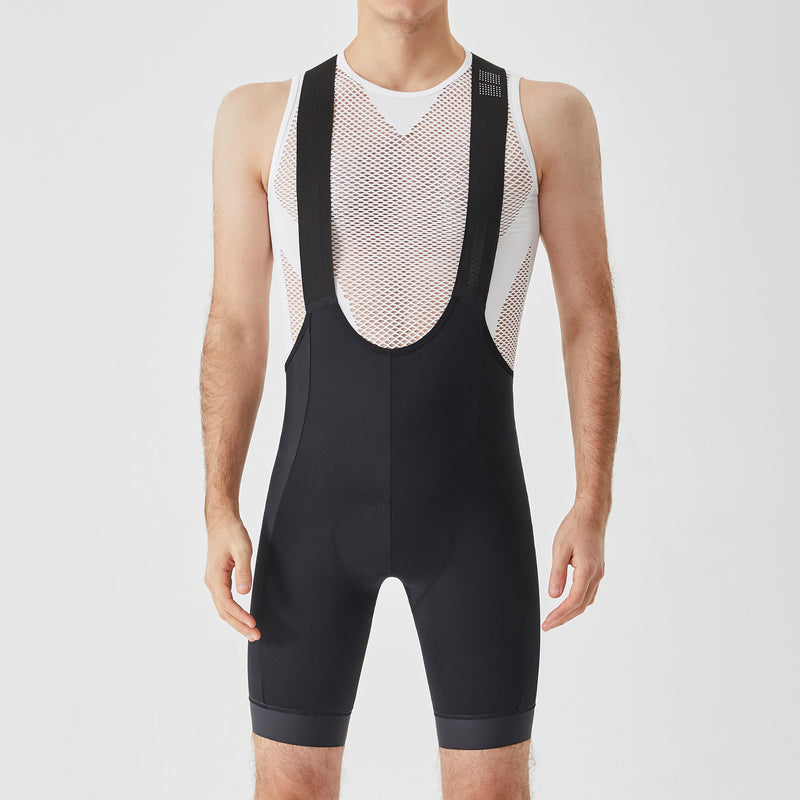 Essential Bib Shorts - Black