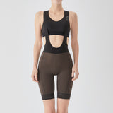Women's Essential Bib Shorts - Brown