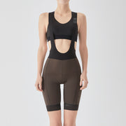 Women's Essential Cycling Bib Shorts - Brown