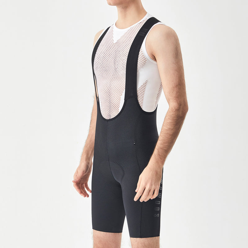 Men's Reflective Cycling Bib Shorts