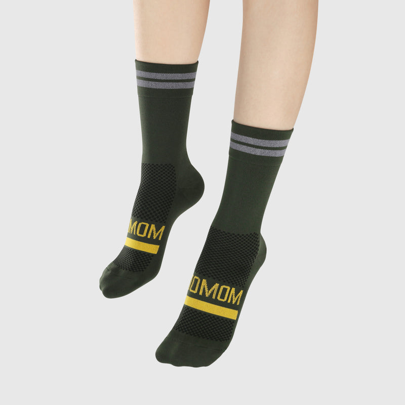 Reflective Chic Logo Socks - Green