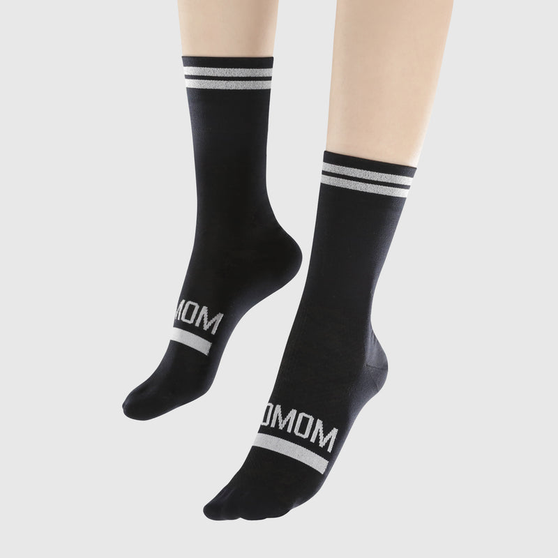 Reflective Chic Logo Socks - Black