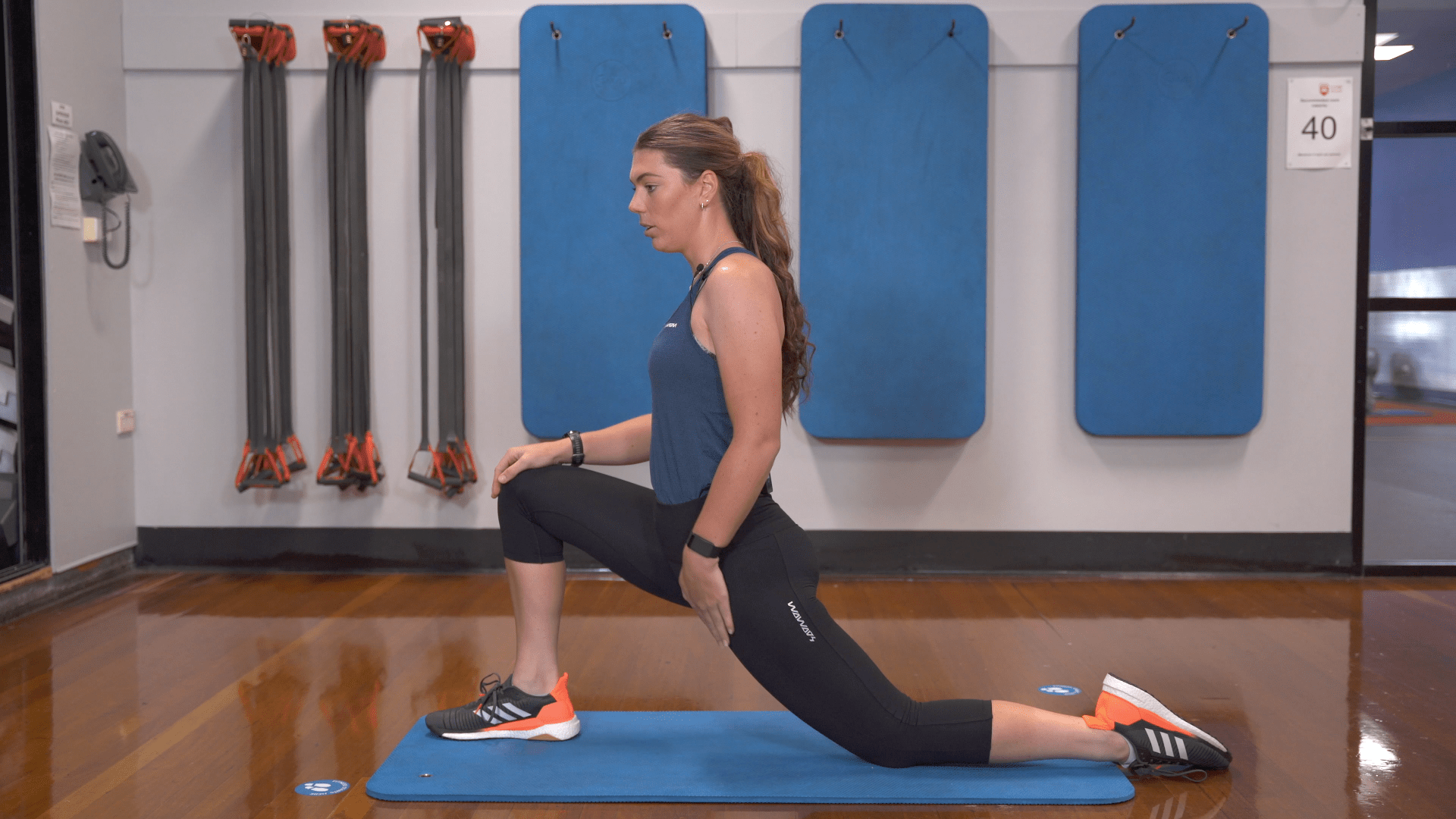 deep lunge exercise