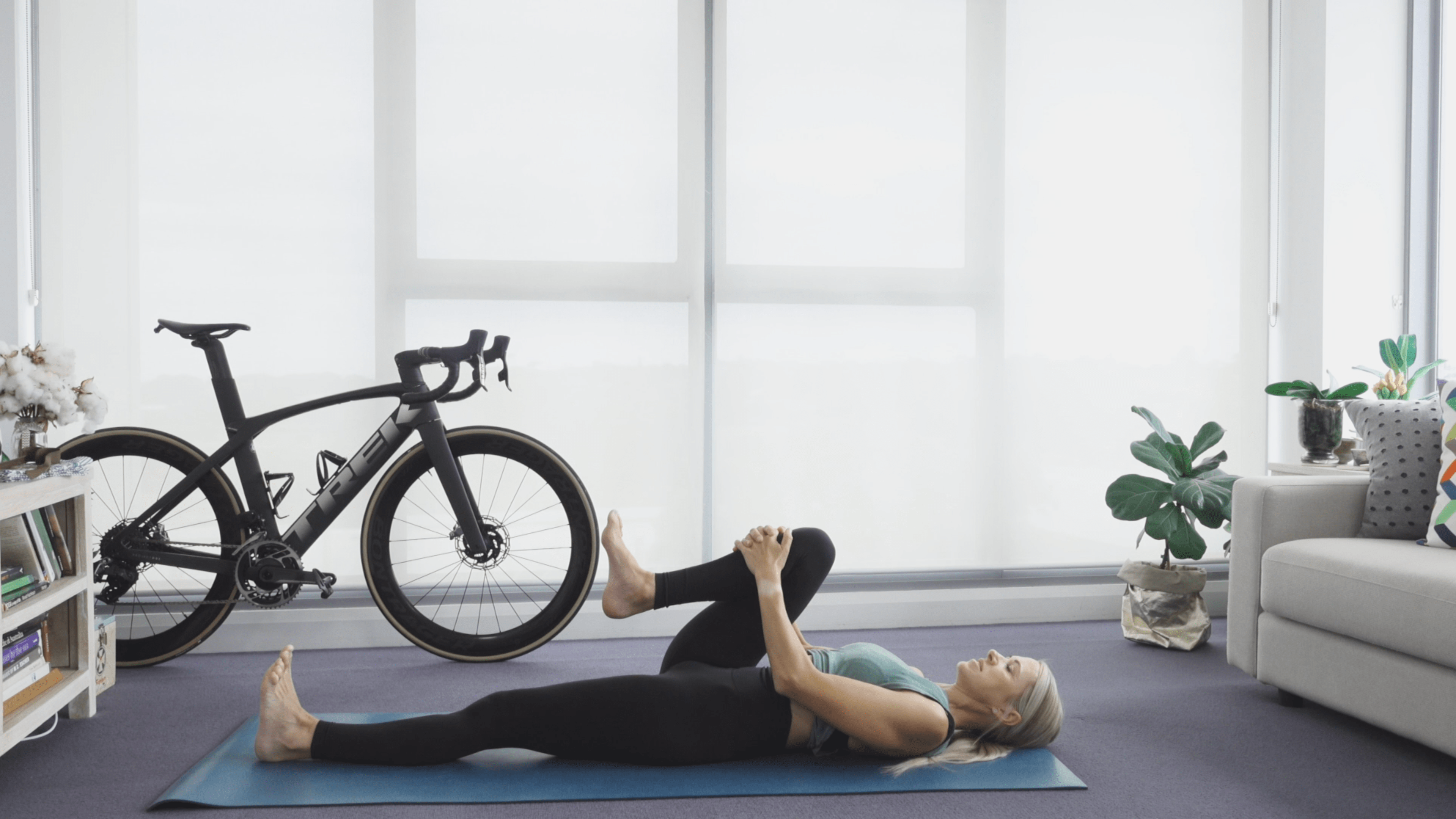 Knee Chest Yoga Cycling