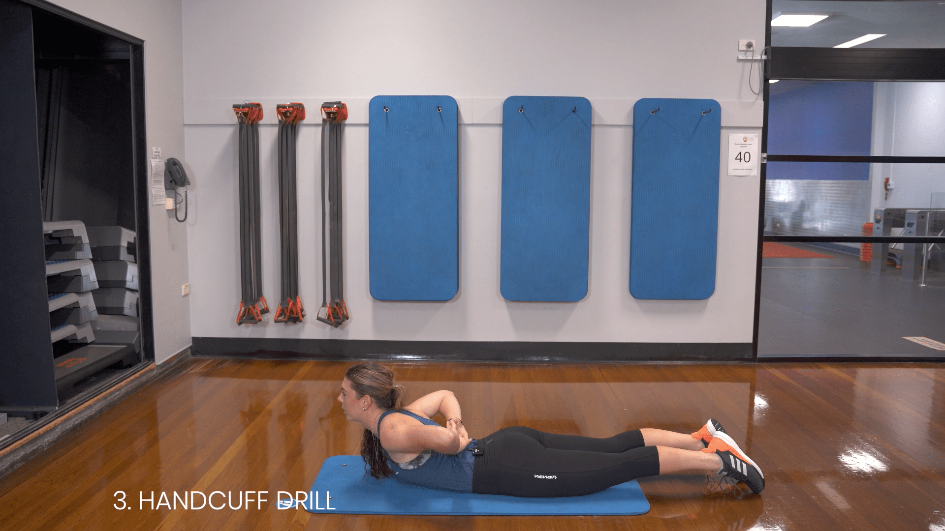 handcuff drill exercise