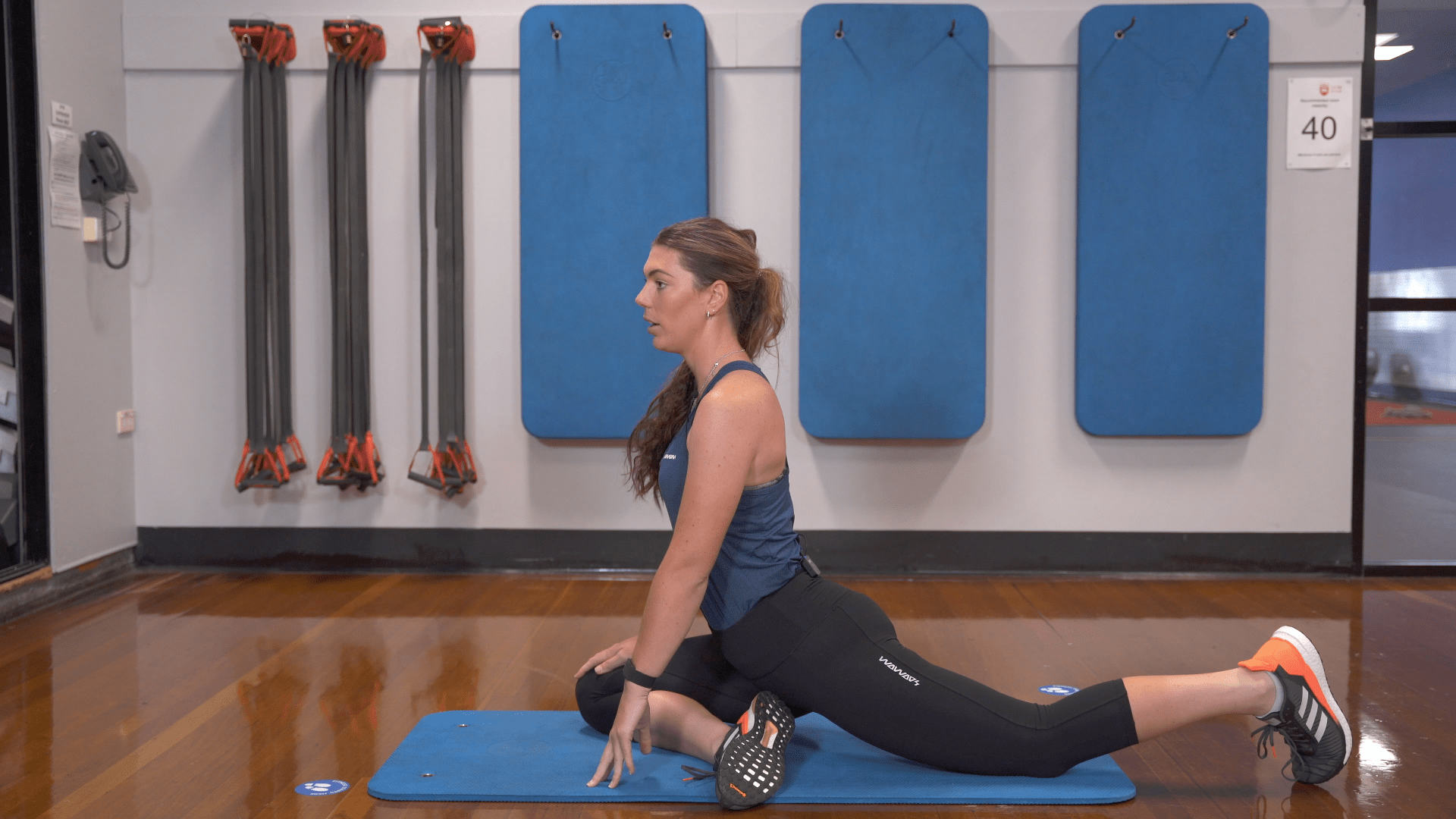 pigeon pose exercise