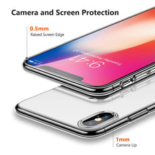 Load image into Gallery viewer, Premium Clear Phone Case for iPhone X XR XS 8 7 6 s Plus {Ultra Thin Slim Soft TPU Silicone}
